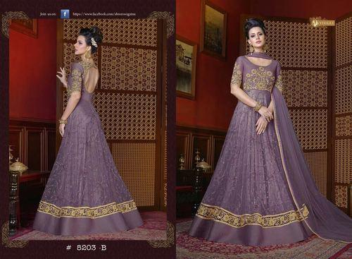 Indian Designer Anarkali Salwar Kameez