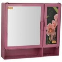 17416 Bathroom Cabinet S-Shelf Magenta