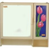 17416 Bathroom Cabinet S-Rod Ivory