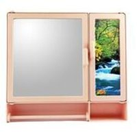 17416 Bathroom Cabinet S-Rod Pink