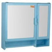 17416 Bathroom Cabinet D-Rod Blue