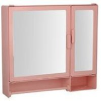 17416 Bathroom Cabinet D-Rod Pink
