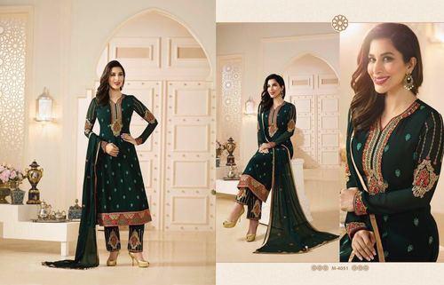 Black Georgette Party Wear Salwar Suit