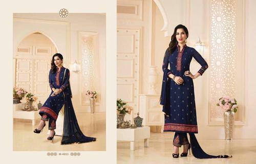 Stylish Indian Party Wear Designer Salwar Kameez