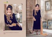 Velvet Party Wear Salwar Suit