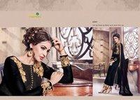 Velvet Designer Salwar Kameez