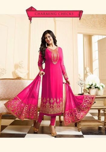 Gajari Georgette Designer Salwar Suit