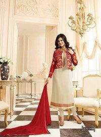 Jacket Style Georgette Salwar Suit