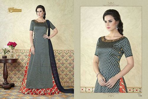 Indo Western Style Salwar Suit