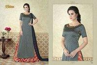 Indo Western Style Salwar Suit