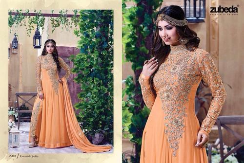 Heavy Neck Embroidery Work Suit