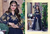 Blue Modern Style Anarkali Salwar Suit