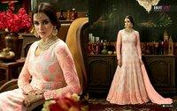 Pink Heavy Bridal Anarkali Salwar Kameez