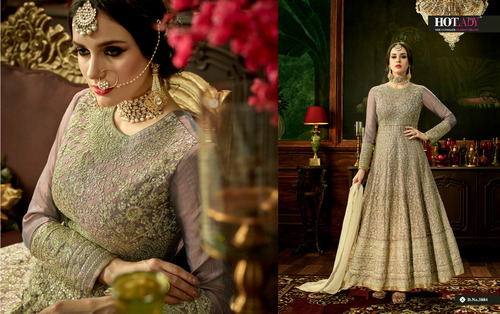 Golden Bridal Heavy Salwar Kameez