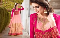 White And Pink Designer Salwar Kameez