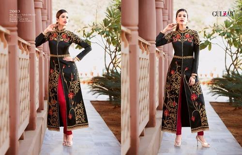Black Party Wear Heavy Salwar Suit