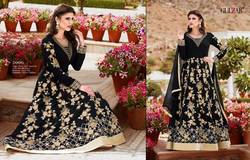 Black Designer Gown