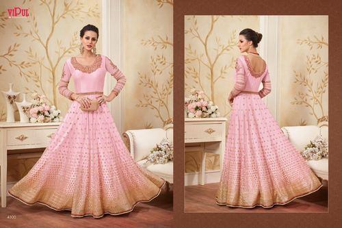 Pink Designer Party Wear Gown