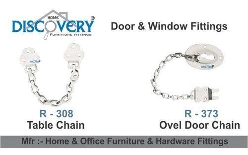 Ovel Door Chain