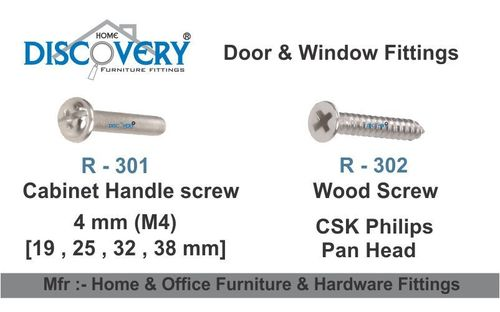 Cabinet Handle Screw