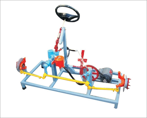 Tilt, telescopic & collapsible steering system  ( actual   working model )