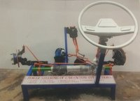 Electrical power steering system ( actual  working model )