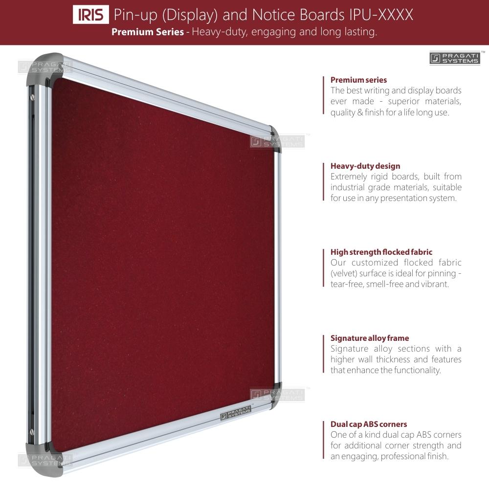 Iris Heavy-duty Pin-up Boards (Display Boards)