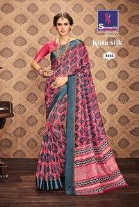 Mainpuri Silk Designer Saree
