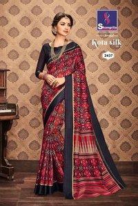 Indian Designer Printed Saree