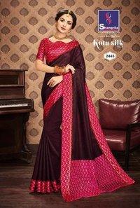 Weaving Silk Designer Causal Saree