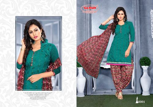 Daily Wear Patiyala Suit