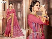 Fancy Fabric Indian Designer Saree