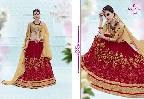 Fancy Bridal Lahenga Choli