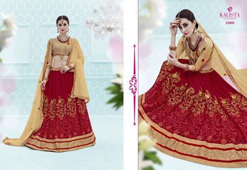Fancy Bridal Lahenga Choli