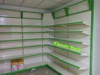 Departmental  store rack shelf