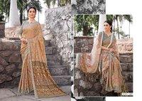Pashmina Digital Printed Designer Saree