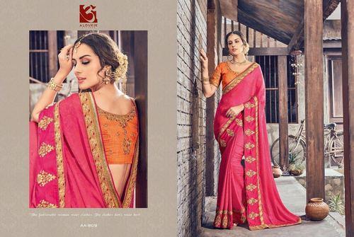 Indian Designer Fancy Party Wear Saree