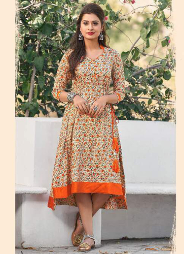 Ladies Tial Cut Kurti
