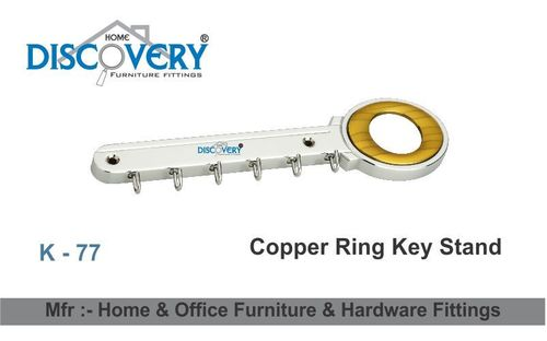 Copper Ring Key Stand