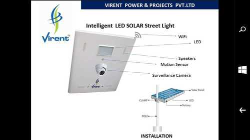 Intelligent LED Solar Street Light