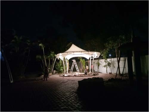 Diagonal Gazebo