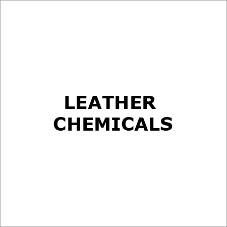 Industrial Leather Chemicals