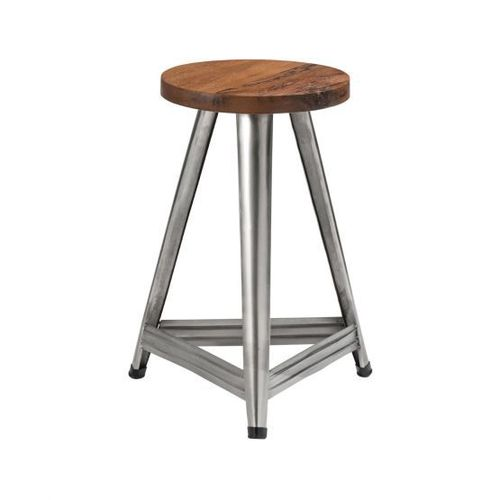 Metal base bar stool