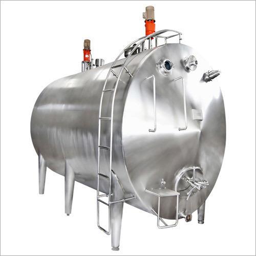 SS Dairy Milk Chiller Tank