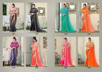 Mintorsi Lunching New Designer Saree Catalog, Roopmala 4201 To 4208 Series