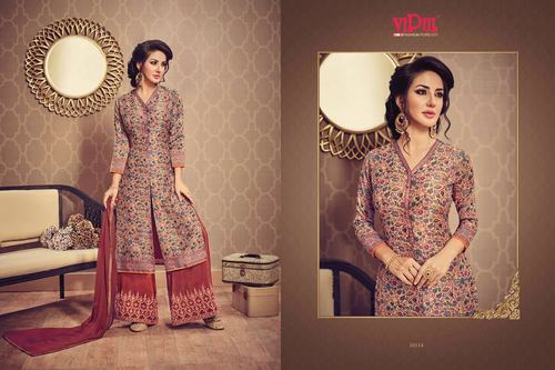 Palazzo Style Salwar Suit
