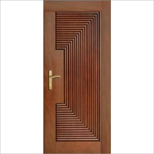Teak CNC Wood Door