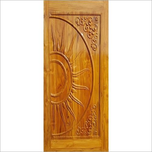 Teak Wood CNC Door