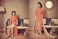 Pure Silk Printed Palazzo Suit
