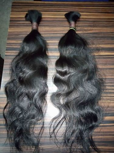 SINGLE DRAWN HUMAN HAIR